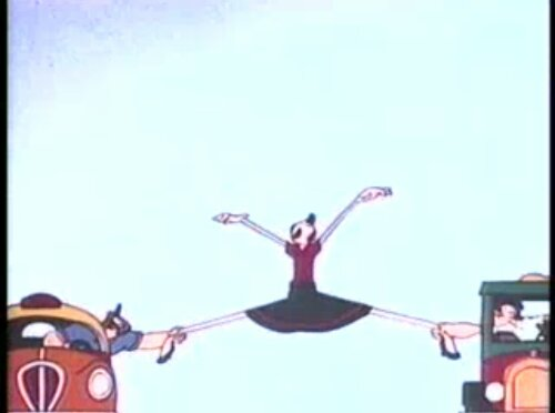 tecknad porr Betty Boop avsugning MILF